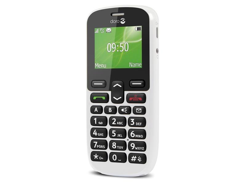 Doro PhoneEasy 508 81 g White Senior phone