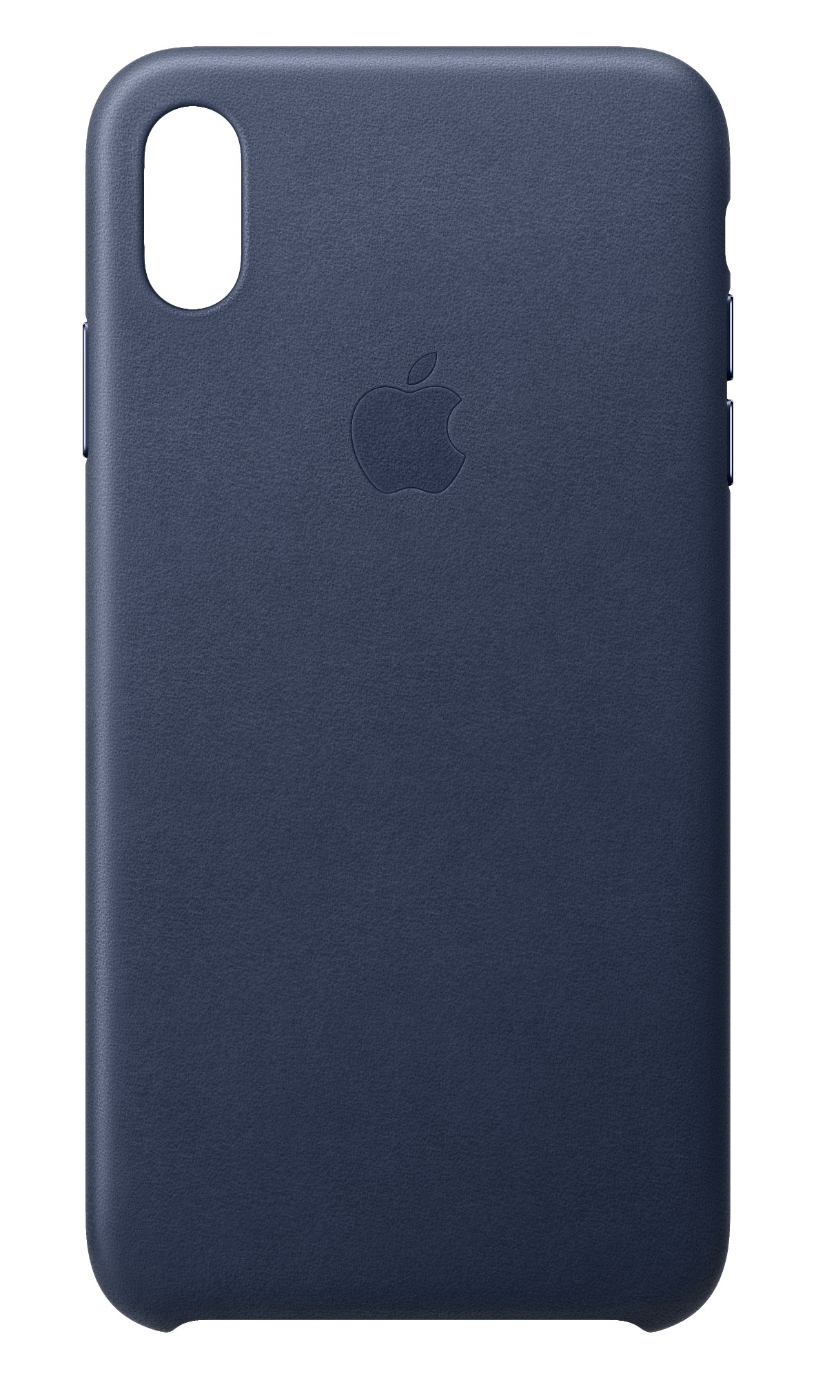 iPhone Xs Max - Leather Case - Midnight Blue