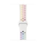 Apple MYD62ZM/A smartwatch accessory Band Mehrfarbig, Weiß Fluor-Elastomer