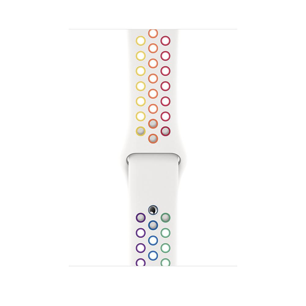 Apple MYD62ZM/A accesorio de relojes inteligentes Grupo de rock Multicolor, Blanco Fluoroelastómero