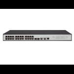 Hewlett Packard Enterprise OfficeConnect 1950 24G 2SFP+ 2XGT Managed L3 Gigabit Ethernet (10/100/1000) 1U Grey