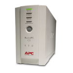 APC Back-UPS Standby (Offline) 0.5 kVA 300 W 4 AC outlet(s)