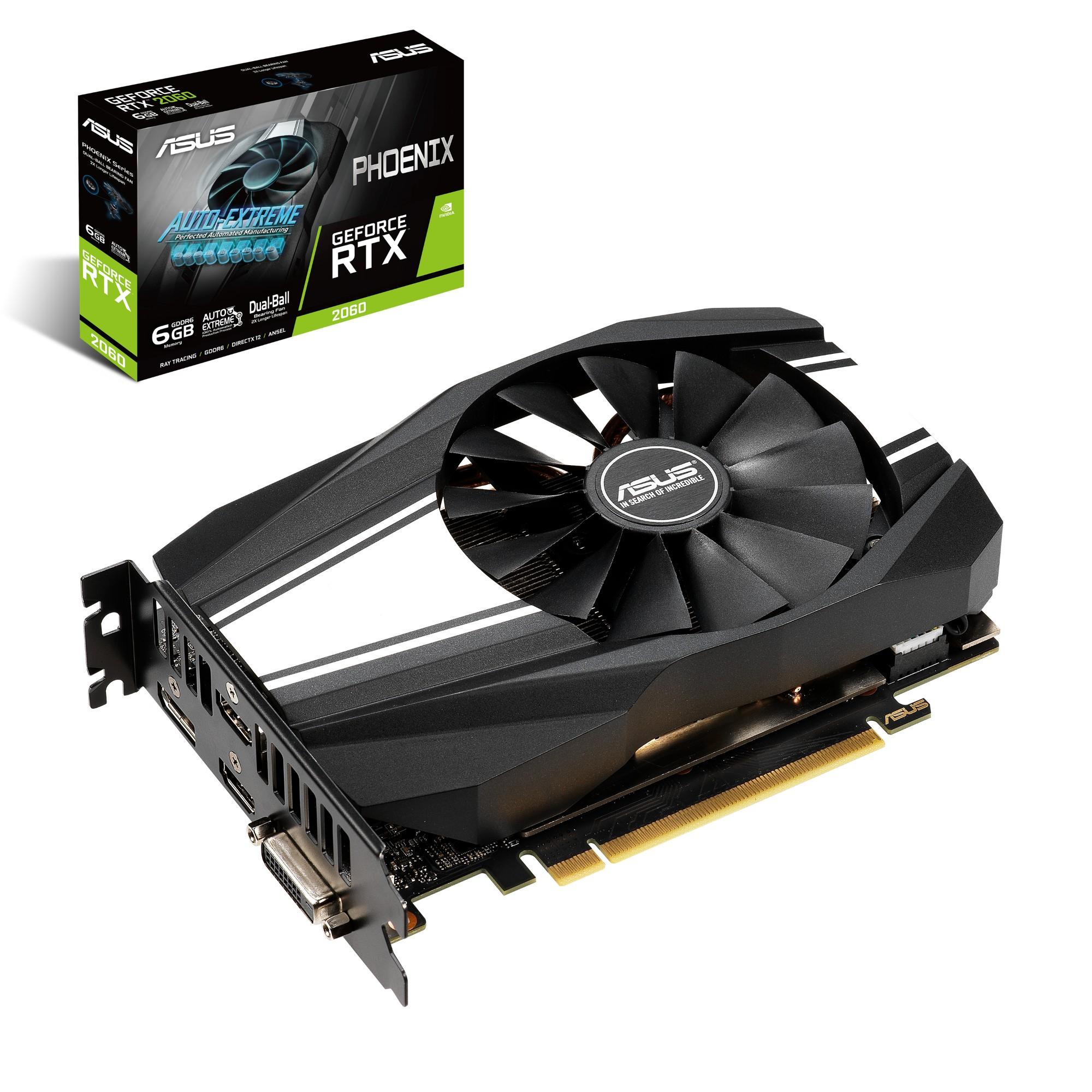 ASUS Phoenix PH-RTX2060-6G GeForce RTX 2060 6 GB GDDR6