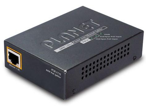 Single Port 10/100/1000mbps Ultra Poe Splitter