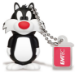 Emtec 8GB USB2.0 L101 LT Sylvester 8GB USB 2.0 Black,White USB flash drive