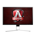 "AOC AG271UG 27"" 4K Ultra HD IPS Black, Red, White Flat computer monitor"