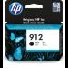 HP 912 Original Negro 1 pieza(s) Rendimiento estándar