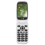 "Doro 6520 7.11 cm (2.8"") 108 g Grey Senior phone"