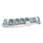 C2G 80798 230V 1.5m Grey,White surge protector
