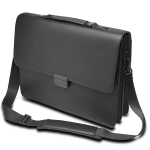 "KENSINGTON EXECUTIVE BRIEFCASE - FITS UP TO 15.6"" NOTEBOOK, BLACK"