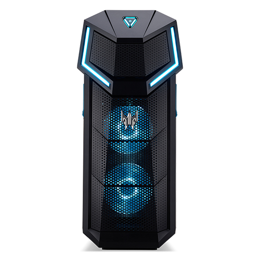 Acer Predator PO5-610 8th gen Intel® Core™ i5 i5-8400 8 GB DDR4-SDRAM 1256 GB HDD+SSD Black Desktop PC