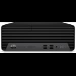 HP ProDesk 400 G7 10th gen Intel® Core™ i3 i3-10100 8 GB DDR4-SDRAM 256 GB SSD SFF Black PC Windows 10 Pro