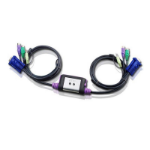 Aten CS62A Black KVM switch