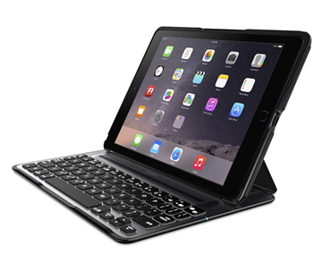 Ultimate Pro Keyboard Qwerty For iPad Air 2 Black