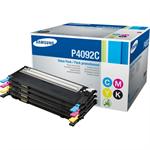 HP SU392A (CLT-P4092C) Toner MultiPack, 1500pg + 3x1000pg, Pack qty 4