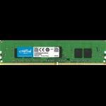 Crucial 4GB DDR4-2666 ECC UDIMM 4GB DDR4 2666MHz ECC memory module