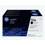 HP Q7553XD (53XD) Toner black, 7K pages, Pack qty 2