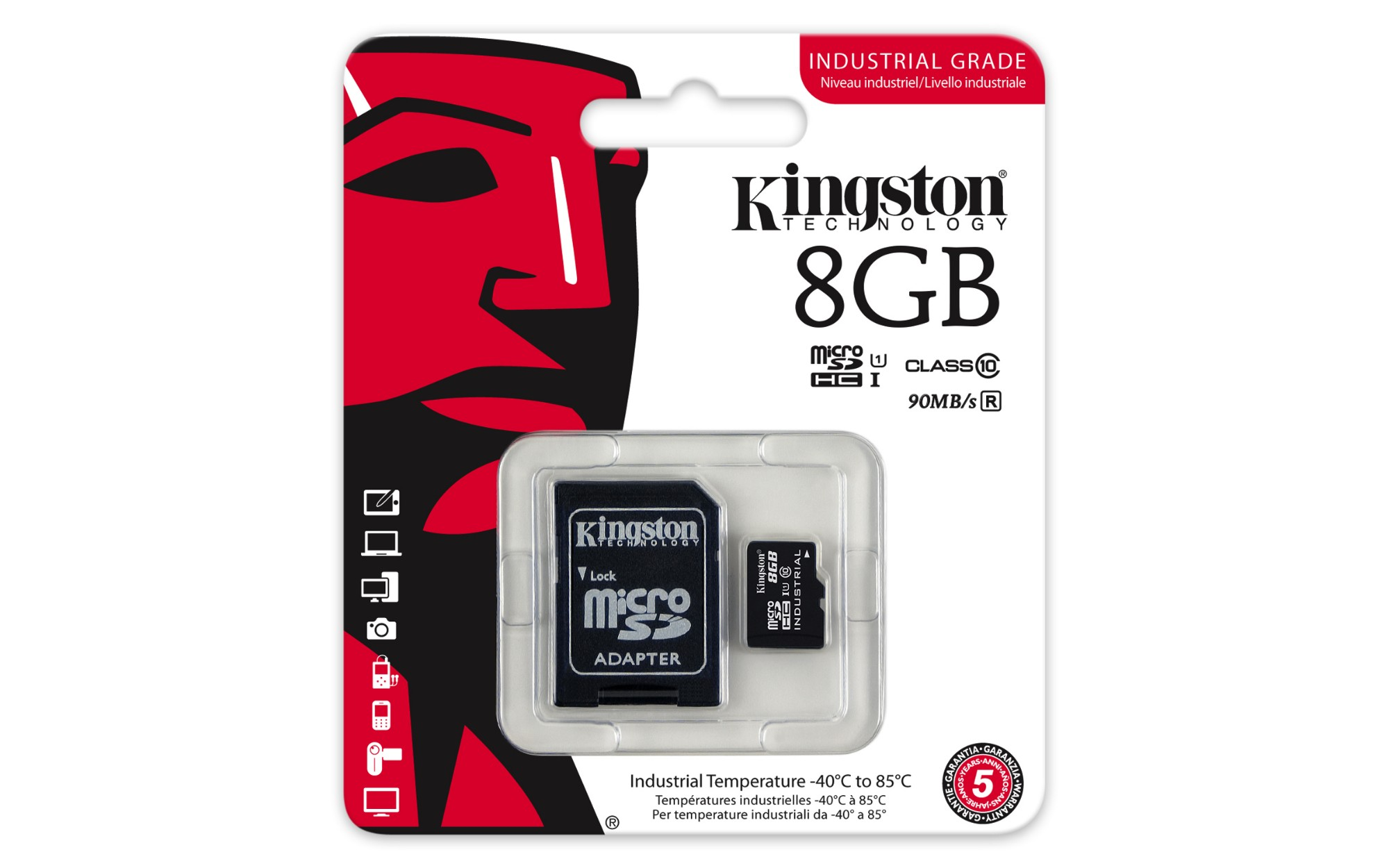 Kingston Technology Industrial Temperature Microsd Uhs I