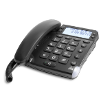 Doro Magna 4000 Analog telephone Black Caller ID