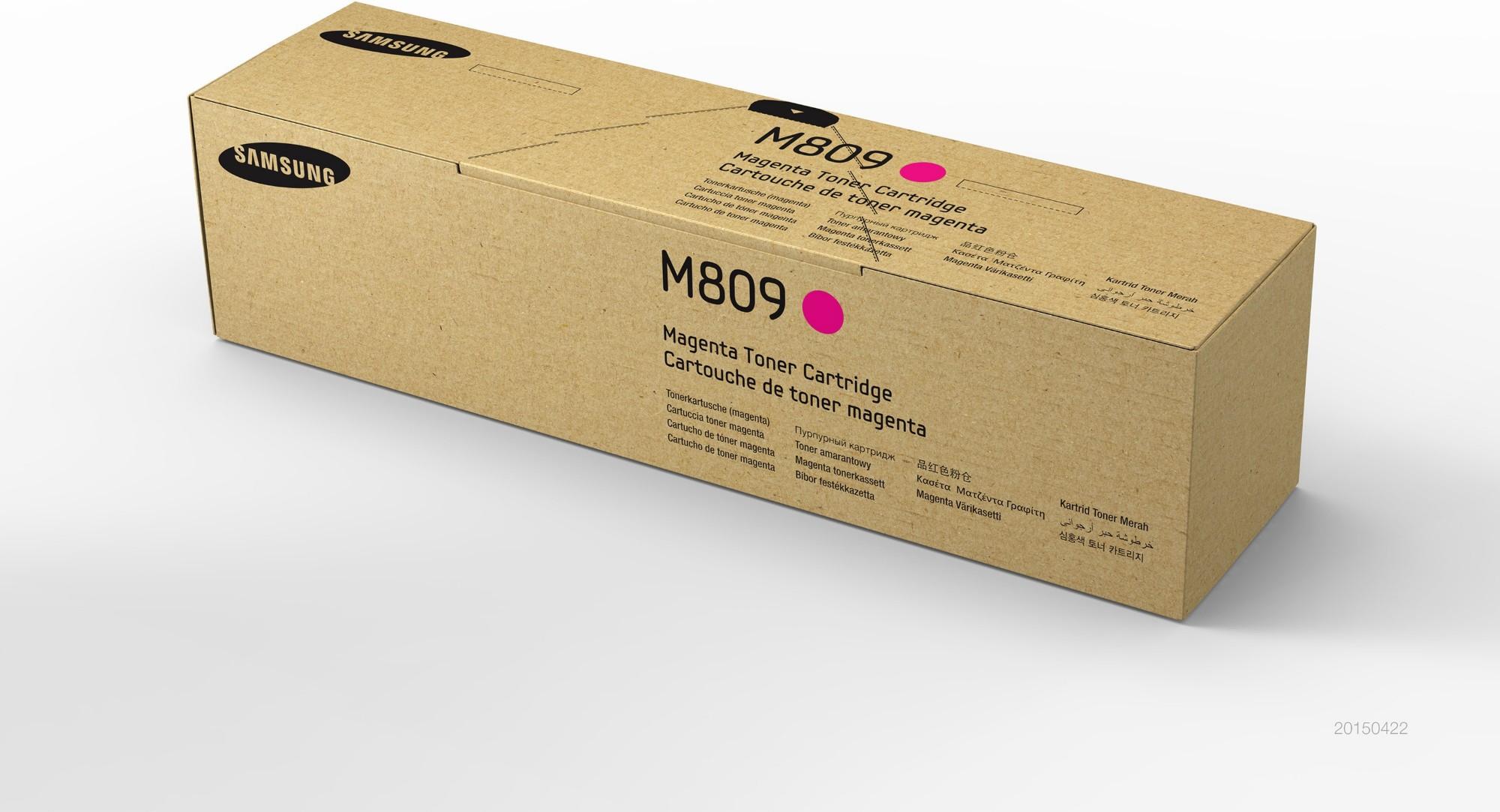 Samsung CLT-M809S Original Magenta 1 pieza(s)