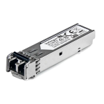 StarTech.com MSA Uncoded SFP Module - 100BASE-FX - 100MbE Multi Mode Fiber (MMF) Optic Transceiver - 100Mb Ethernet SFP - LC 2km - 1310nm - DDM
