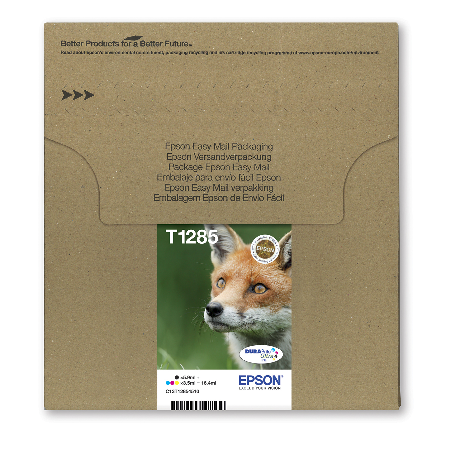 Epson Fox Multipack 4-colours T128 EasyMail