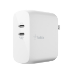 Belkin WCH003DQWH mobile device charger Indoor White