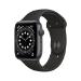 Apple Watch Series 6 44 mm OLED 4G Gris GPS (satélite)