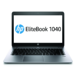 "HP EliteBook Folio 1040 G1 2.1GHz i7-4600U 14"" Silver Notebook"