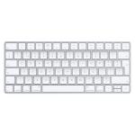 Apple MLA22 Tastatur Bluetooth QWERTZ Schweiz Silber, Weiß