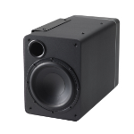 Audica microsub 3 100 W Active subwoofer Black