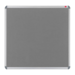 Nobo EuroPlus Felt Noticeboard Grey 1500x1000mm