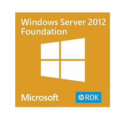 Hewlett Packard Enterprise Microsoft Windows Server 2012 R2 Foundation ROK en/nl/sv/pt/tr SW