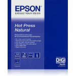 "Epson Hot Press Natural 17""x 15m"