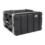 Tripp Lite SRCASE6U equipment case Flight case Black