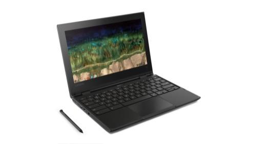 "Lenovo 500e Black Chromebook 29.5 cm (11.6"") 1366 x 768 pixels Touchscreen Intel® Celeron® N3450 8 GB LPDDR4-SDRAM 64 GB eMMC"
