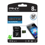 PNY Performance memory card 8 GB MicroSDHC Class 10 UHS-I