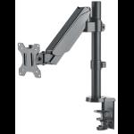 "Manhattan 461573 flat panel desk mount 81.3 cm (32"") Clamp Grey"