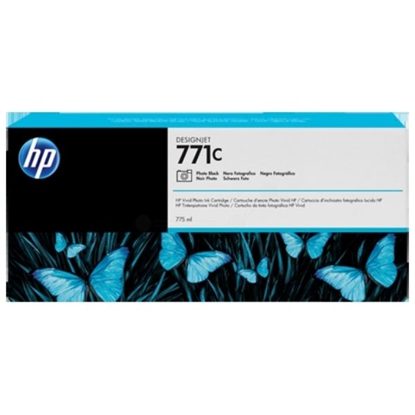 HP B6Y13A (771C) Ink cartridge bright black, 775ml