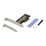Microconnect MC-PCIE-NVME-SSDADAPT interface cards/adapter Internal M.2