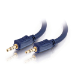 C2G 2m Velocity 3.5mm Stereo Audio Cable M/M