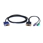 Tripp Lite PS/2 (3-in-1) Cable Kit for KVM Switch B004-008, 1.83 m
