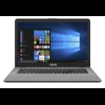 "ASUS VivoBook Pro N705UD-GC103T Grey, Stainless steel Notebook 43.9 cm (17.3"") 1920 x 1080 pixels 1.60 GHz 8th gen Intel® Core™ i5 i5-8250U"