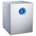 LaCie 5big Thunderbolt 2 40000GB Desktop Aluminium disk array