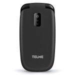 "TELME X210 1.77"" 68g Black Entry-level phone"