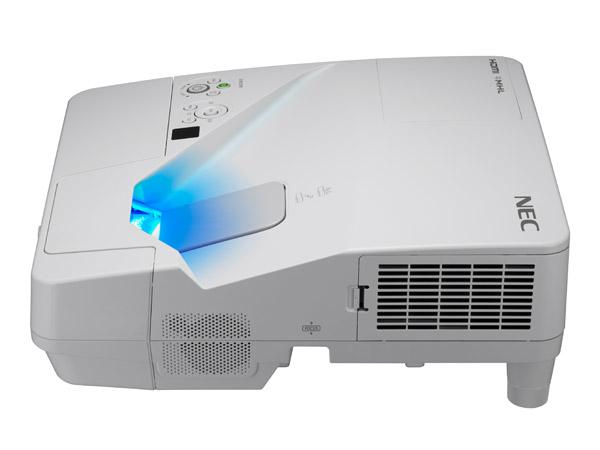 NEC UM361X videoproyector 3600 lúmenes ANSI 3LCD XGA (1024x768) Proyector para escritorio Blanco