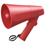 TOA ER-520S megaphone Outdoor 10 W Red