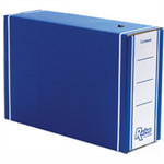 Bankers Box Bankers Box by Fellowes Premium Transfer File Blue and White Ref 00059-FF [Pack 10]