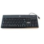 HP 724720-051 keyboard USB AZERTY French Black