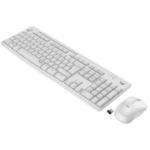 Logitech MK295 Silent Wireless Combo Tastatur RF Wireless QWERTY US International White